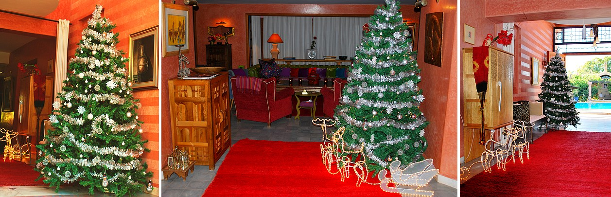 Merry christmas riad casa taos a marrakech un h tel for Reservation hotel par mail